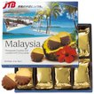 マレーシア お土産 マレーシア チョコがけパイナップルクッキー1箱 クッキー