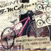 クロスバイク カゴ付き 26インチ 泥除け付き シマノ6段変速ギア シティサイクル おすすめ T-MCA266-43 TOPONEトップワン 自転車