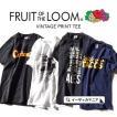 Tシャツ ロゴTシャツ Fruit of the Loom フルーツオブザルーム レディース メンズ ユニセックス 半袖 綿100% コットン ロゴ 春 夏