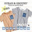 Tシャツ キッズ ベビー 半袖 夏 綿100% 子供服 赤ちゃん 男の子 女の子 1816102 オーシャンアンドグラウンド