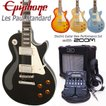Epiphone エピフォン Les Paul Standard  レスポール初心者セット16点 ZOOM G1Four付き