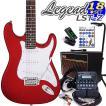 エレキギター 初心者 セットVOXアンプ ZOOM G1on付 LST-Z/CACA Legend エレキギター 入門 16点セット