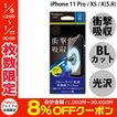 iPhoneX 保護フィルム Simplism シンプリズム iPhone XS / X 衝撃吸収&ブルーライト低減 液晶保護フィルム 光沢 TR-IP178-PF-SKBCCC ネコポス可