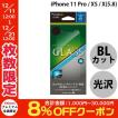 iPhoneX ガラスフィルム Simplism シンプリズム iPhone XS / X ブルーライト低減 液晶保護強化ガラス 光沢 0.41mm TR-IP178-GL-BCCC ネコポス可