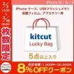 KITCUT キットカット お楽しみ 福袋 iPhone SE / 5s / 5 USBフラッシュメモリ1個 + ケース/保護フィルム/アクセサリーが4個以上 ネコポス不可