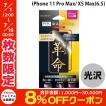 iPhoneXSMax 保護フィルム LEPLUS ルプラス iPhone XS Max PTEC 9H 全画面フィルム 高光沢/ブラック LP-IPLPCFLGBK ネコポス可