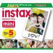 インスタントカメラ チェキ専用インスタントカラーフィルム instax mini 5パック instax mini K R 5 FUJIFILM<富士フイルム>