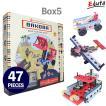 おもちゃ 知育玩具 BAKOBA バコバ 知育ブロック ビルディングボックス5  ブロック 3歳 4歳 誕生日プレゼント レゴブロック レゴ互換