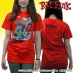 ラットフィンク 赤 Tシャツ メンズ レディース キャラクター Tee RATFINK