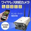 防犯カメラ 200万画素 センサーライト機能付き 監視カメラ wifi無線 sdカード録画 録音 遠隔監視 暗視 防犯カメラ 屋外・屋内 防水  C4-1080B