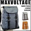 リュック リュックサック メンズ カジュアル 大容量  MAXVOLTAGEシリーズ #3096