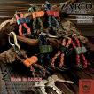 キーリング キーホルダー カラビナ 本革 栃木レザー 日本製 ZARIO-GRANDEE- ZAG-0010