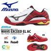 軽量 テニスシューズ ミズノ MIZUNO メンズ レディース WAVE EXCEED EL AC ウエーブエクシード オールコート用 3E 幅広  得割20