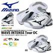 ラスト1点!! 27.0cm テニスシューズ ミズノ MIZUNO メンズ WAVE INTENSE Tour OC ウエーブインテンスツアー 砂入り人工芝 クレー用  得割30  送料無料