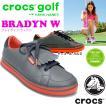 【得割62】 現品限り クロックス ゴルフシューズ レディース crocs ブレイディン ウィメンズ bradyn w クロックス ゴルフ 18973 靴 チャコール