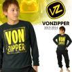 現品限り 66%off 長袖 Tシャツ VONZIPPER ボンジッパー メンズ カジュアル ロンT ロゴ