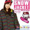 スノーボードウェア レディース ハローキティ コラボ ジャケット レディース ウエア HELLO KITTY SNOWBOARD