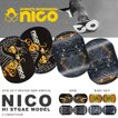 セパレート スノー ボード 板 nico ニコ HIGHSTAGE MODEL  メンズ レディース ユニセックス スノーボード  センターガード