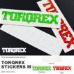 ネコポス便対応可能! ステッカー ロゴ Mサイズ TORQREX トルクレックス STICKERS シール スノー スノーボード