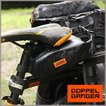 DOPPELGANGER (ドッペルギャンガー) パズルサドルバッグ ブラック DBS444-BK