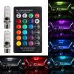 ポジションランプ LED RGB配色コントローラー付き T10 T16