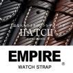 時計 腕時計 ベルト バンド  EMPIRE  革 本革 イタリアンレザー ハッチ 耐汗 18mm 20mm