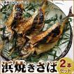 浜焼きさば(2本)脂ののった鯖の丸焼き(福井名物 浜焼きサバ)約400〜500g×2本セット[冷蔵]