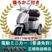電動ミニカー 電動3輪車  シルド (後カゴ付き)【2017年モデル】