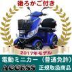 電動ミニカー  電動4輪 シルドLX4W(ブルー)(後ろカゴ付き) アクセス製