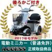 電動ミニカー  電動4輪 シルドLX4W(シルバー)(後ろカゴ付き) アクセス製