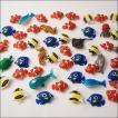 水に浮くすくい用おもちゃ ぷかぷかプラスチックおさかなクマノミとお友達 50個 [動画有]