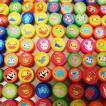 27mm カラフルどうぶつスーパーボール(100ヶ)/お祭り景品 すくい景品 縁日