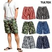 海水パンツ 海パン スイムウェア 水着 男性用 メンズ トランクス おしゃれ 大きいサイズ サーフパンツ TULTEX 派手 総柄 プリント
