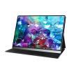 EVICIV 4K 15.6インチ モバイルモニター 非光沢液晶 HDMI-mini HDMI 100%AdobeRGB 超精細画質 モバイルディスプレイ 仕事ゲーム カバー/日本語説明書付 3年保証