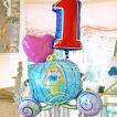 女の子 誕生日 ナンバー バルーン ディズニー (シンデレラ キャリー)(3)_26463 孫の誕生日プレゼント