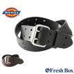ディッキーズ ベルト ダブルピン メンズ 本革 レザー 11DI0227 大きいサイズ USAモデル Dickies カジュアル ロング