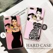 iPhone11 Pro Max iPhoneX XR 等のiPhone ケース Xperia Galaxy カバー メンズ Audrey Hepburn オードリー ヘップバーン 猫 パイプ