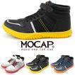 安全靴 作業スニーカー ハイカット ベルクロ 反射材 鉄芯 セーフティー シューズ メンズ ネイビー 白 グレー 黒 クッション インソール cpm357