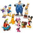 ミッキーマウス Mickey Mouse フィギュア Clubhouse Exclusive 9-Piece Deluxe PVC Figure Playset