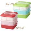 ピクニックケース 3段or2段にできる角型(大)がお買い得 みんなでお弁当 運動会 弁当箱
