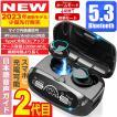 ワイヤレスイヤホン Bluetooth5.2 日本語音声ガイド ...
