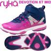 RYKAライカ DEVOTION XT MID (ネイビー×パープルピンク) F4334M-2401(22.0〜26.5cm/レディース/メンズ)ディボーションXTミッド