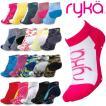 RYKAライカ フィットネスシューズ専用ソックス 足袋型靴下(9cm丈)