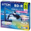 TDK 録画用ブルーレイディスク BD-R 25GB 1-6倍速 5色...