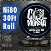 電子タバコ VAPE コイルモンスター コイル Ni80 ニクロム 30フィート COILMONSTA Nichrome 80 30ft