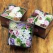 ソープフラワー 母の日ギフト 花の入浴剤 バスフレグランス アンティークボックス バロック 誕生日 お祝い プレゼント