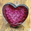 ソープフラワー 花の入浴剤 バラ バスフレグランス ハートボックスB 誕生日 お祝い プレゼント ホワイトデー ギフト
