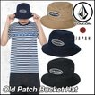 volcom Japan Limited ハット キャップ メンズ  Old Patch Bucket Hat VOLCOM バケットハット 帽子メール便不可【返品種別OUTLET】
