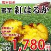 紅はるか さつまいも 2.5kg 熊本県産 蜜芋 2セット購入 送料無料 3箱セット以降はおまけ付 サツマイモ