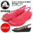 クロックス Crocs Adrina III Mini Wedge 14937 アドリナ ミニ サンダル ウェッジサンダル パンプス風 ※ラッピング不可